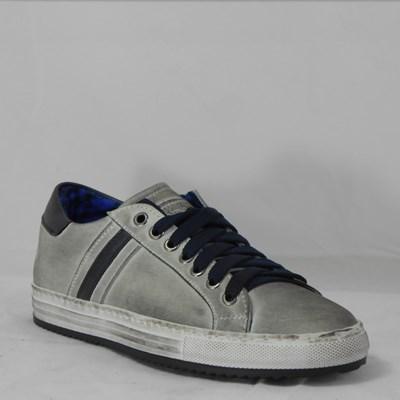Aleandro sneaker bianca e blu