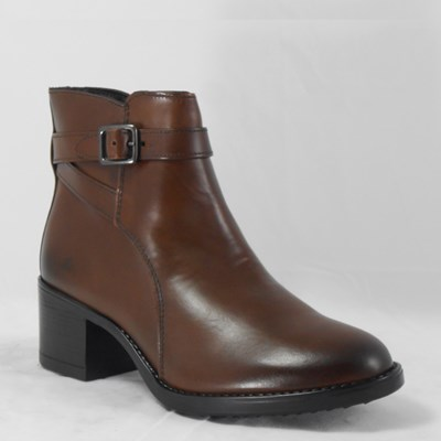 59d17360774 ANDRÉ ANKLE BOOTS BROWN - FirmeStock