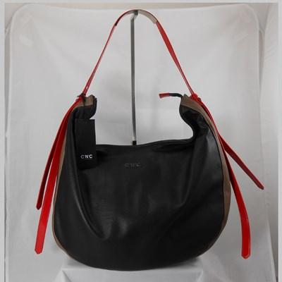 Costume National borsa nero e rosso