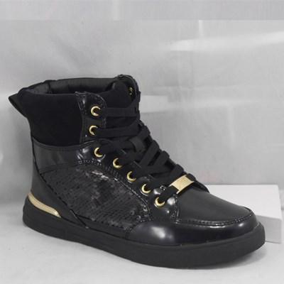 Gattinoni Roma sneaker nero con paillettes
