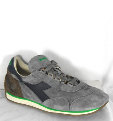 DIADORA HERITAGE EQUIPE SW FROST GRAY BLUE NIGHTS