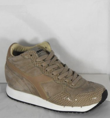 DIADORA HERITAGE TRIDENT W MID REPTILE GRAY SILVER CLOUD