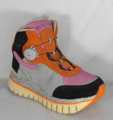 FORNARINA SNEAKER BLACK BARBIE ORANGE