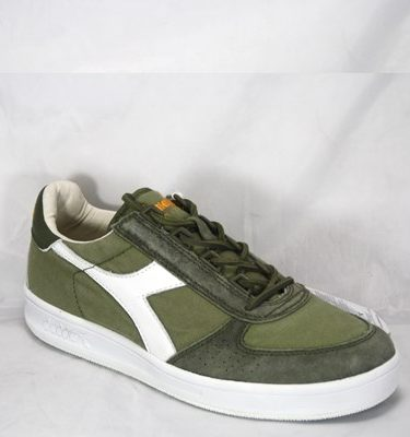DIADORA HERITAGE B ELITE BURNT OLIVE WHITE