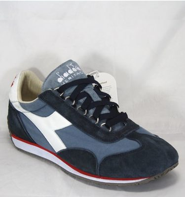 DIADORA HERITAGE EQUIPE STONE WASH CHINA BLUE BLUE NAVY