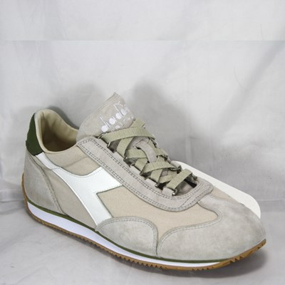DIADORA HERITAGE EQUIPE STONE WASH SILVER CLOUD DRIED HERB