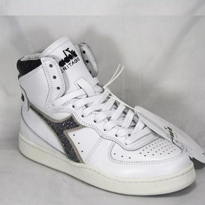 Dettagli su Diadora Heritage Sneakers MI BASKET LUX per donna