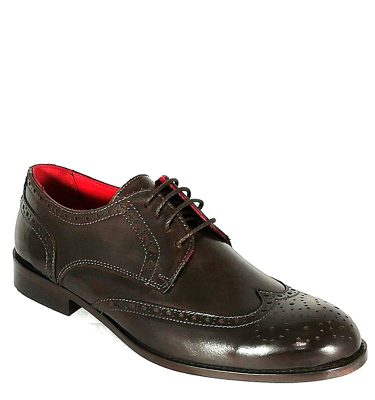 BRUNO MAGLI DERBY CODA DI RONDINE VITELLO DK BROWN