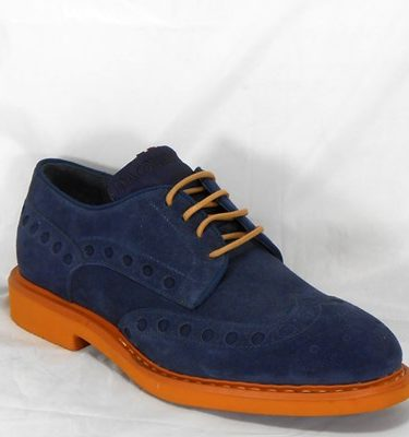 D'ACQUASPARTA DERBY DANTE U400VB VELOUR BLUE