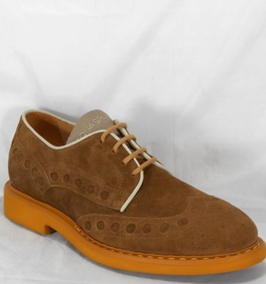 D'ACQUASPARTA DERBY DANTE U400VBR VELOUR BROWN