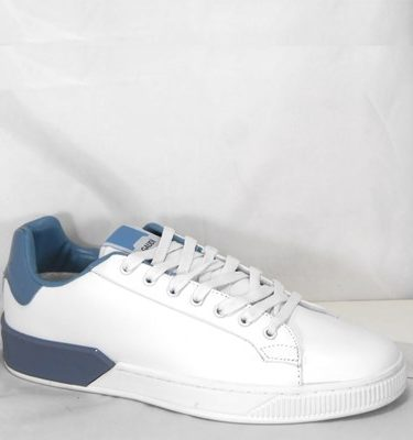 GAUDÌ SNEAKER 66840 LEATHER WHITE AZUL