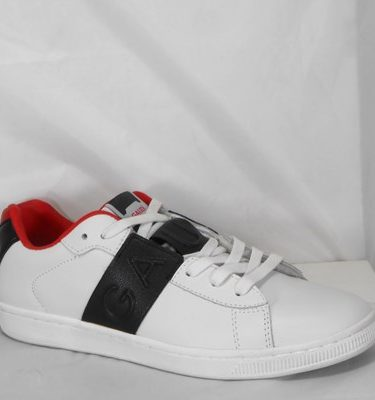 GAUDÌ SNEAKER 66841 LEATHER WHITE BLACK