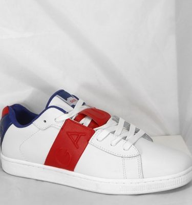 GAUDÌ SNEAKER 66841 LEATHER WHITE RED