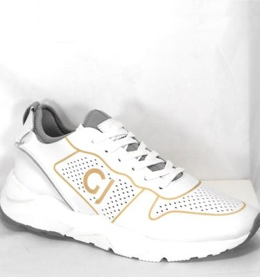 GAUDÌ SNEAKER 66871 LEATHER WHITE