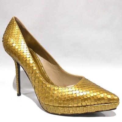 BURBERRY 3877566 PYTHON GOLD